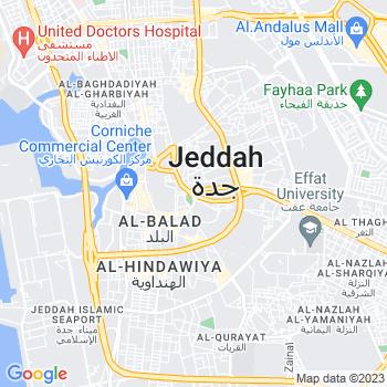 Google Map of Jeddah