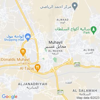 Google Map of Muhayil