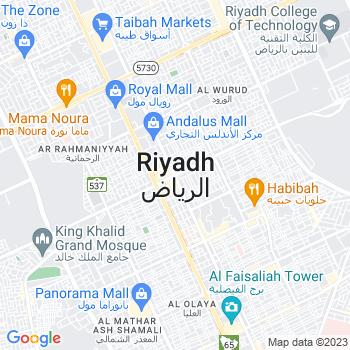 Google Map of Riyadh