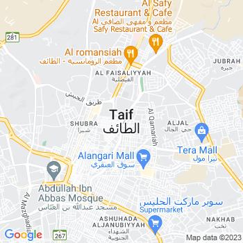 Google Map of Taif