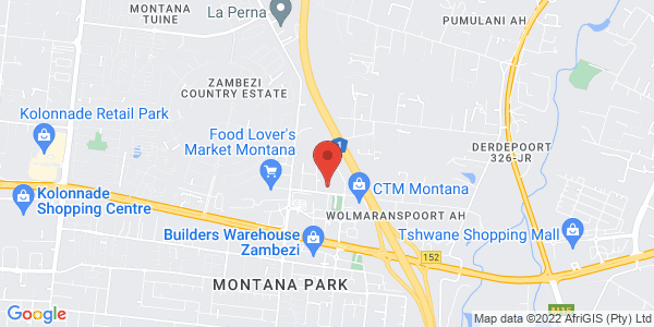 Express Employment Professionals Pretoria Recruitment Agency Map