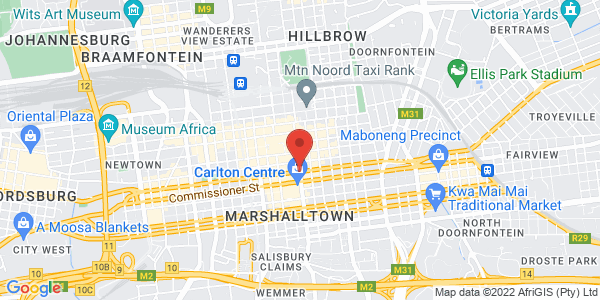 Jobs in Johannesburg Facebook group Map