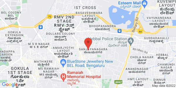 Ramaiah Institute of  Technology Admission (MSRIT) | Collegeadmissioncare.com Map