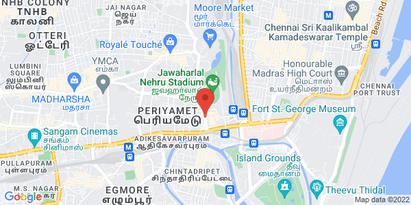 Best Aya Centre & Maid Services Agency in Chennai  Map