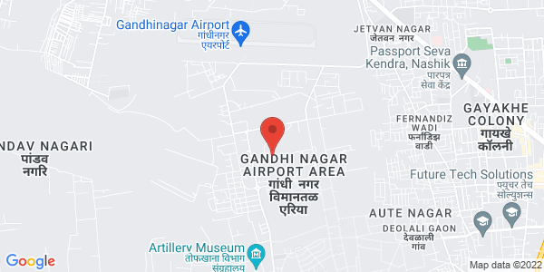 Institute for online class Nashik Map