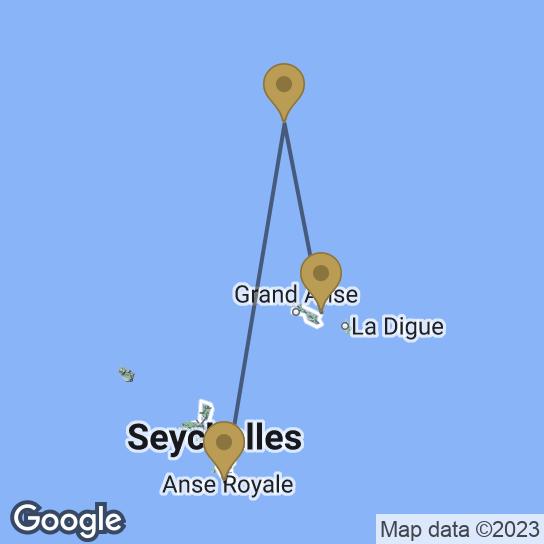 Carte combiné : Triptyque authentique aux Seychelles