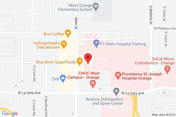 Orange Ambulatory Surgery Center Map