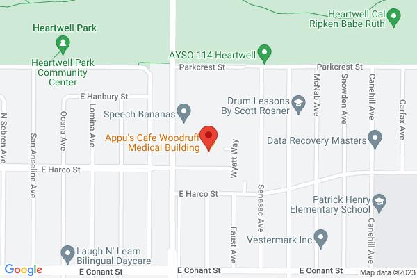 Acuity Eye Group & Retina Institute - Long Beach Map