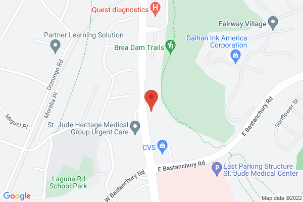 Acuity Eye Group & Retina Institute - Fullerton Map