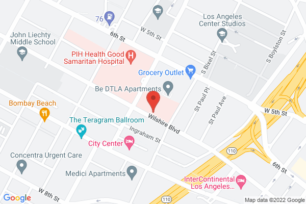 Acuity Eye Group & Retina Institute of California - Los Angeles Map