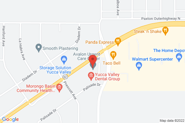 Acuity Eye Group - Yucca Valley Map