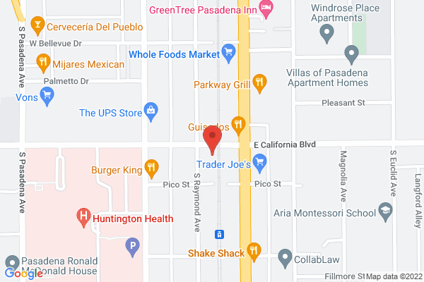 Acuity LASIK Center - Pasadena Map