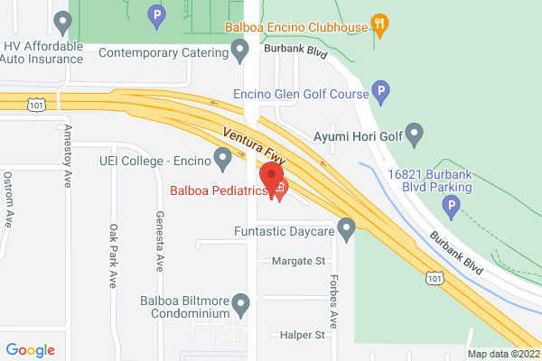 Retina Institute - Encino Map