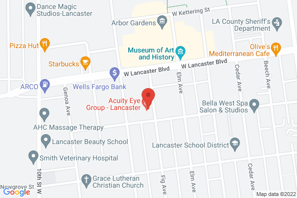 Acuity Eye Group, Retina Institute & Acuity 360 Advanced Vision Center - Lancaster Map