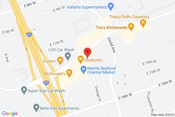 West Coast Eye Care & Acuity Eye Group - National City Map