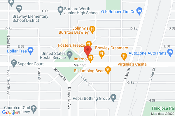 Acuity Eye Group & Retina Institute - Brawley Map