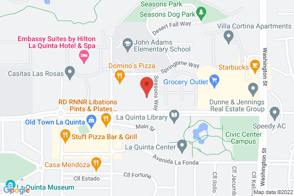 Acuity Eye Group & Retina Institute - La Quinta Map