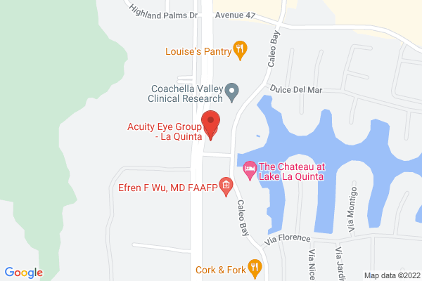 Acuity Eye Group - La Quinta Map