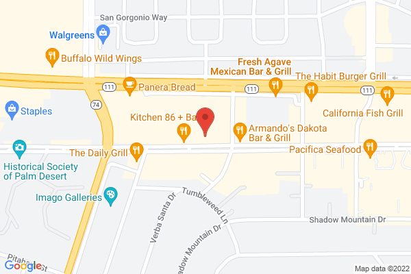 Acuity Eye Group 360° Advanced Vision Center Map