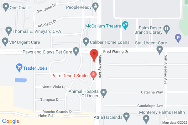 Acuity Eye Group & Retina Institute - Palm Desert Map