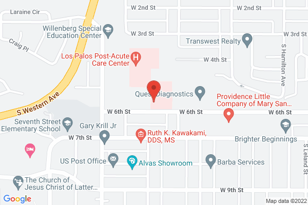 Acuity Eye Group - San Pedro Map