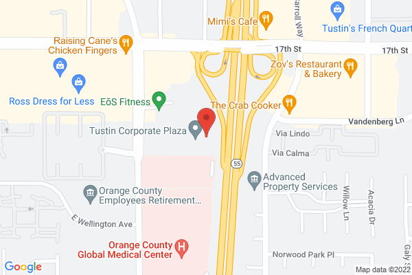 Acuity Eye Group, Retina Institute & Acuity 360 Advanced Vision Center - Santa Ana Map