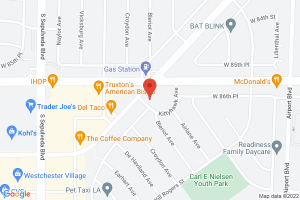 Acuity Eye Group & Retina Institute - Westchester Map