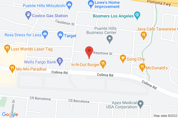 Acuity Eye Group & Retina Institute - Rowland Heights Map