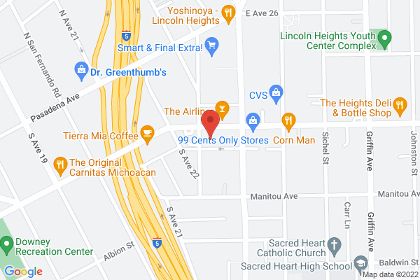 Acuity Eye Group & Retina Institute - Lincoln Heights Map