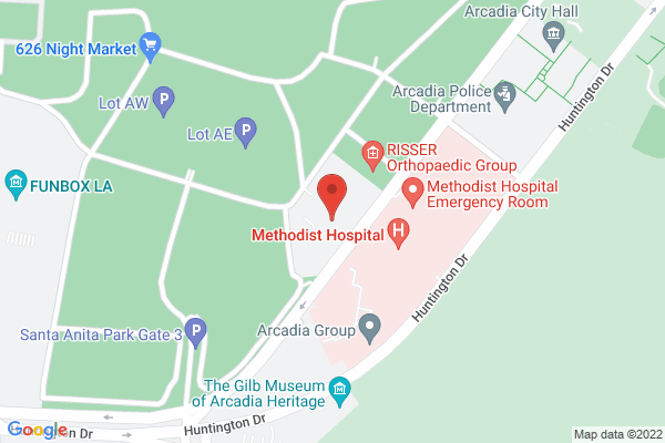 Acuity Eye Group & Retina Institute - Arcadia Map