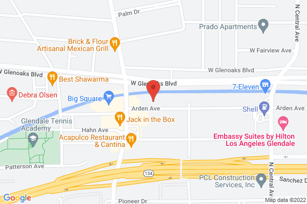 Acuity Eye Group & Retina Institute - Glendale Map