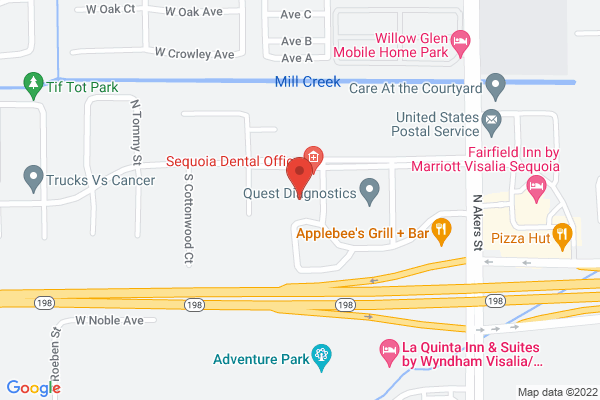 Retina Institute & Acuity Eye Group - Visalia Map