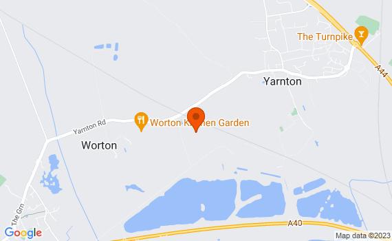Aerial view of Worton