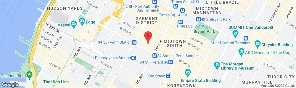 Map of the law firm Raphaelson & Levine Law Firm , PC