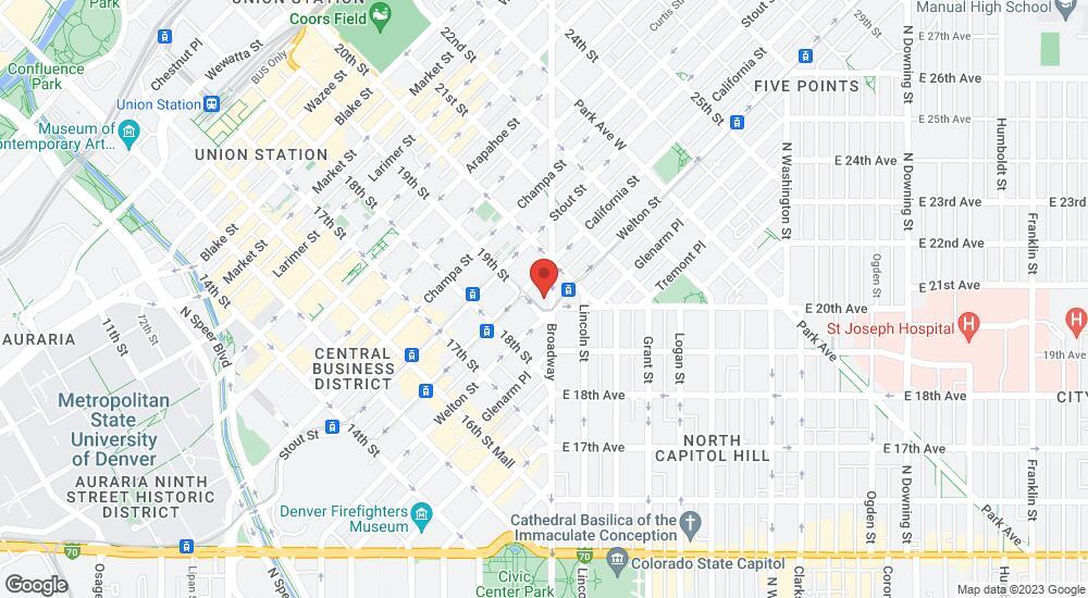 Map of the law firm Hutchins & Associates LLC