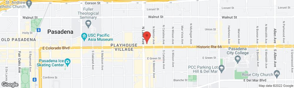Map of the law firm Law Offices of Kearney | Baker