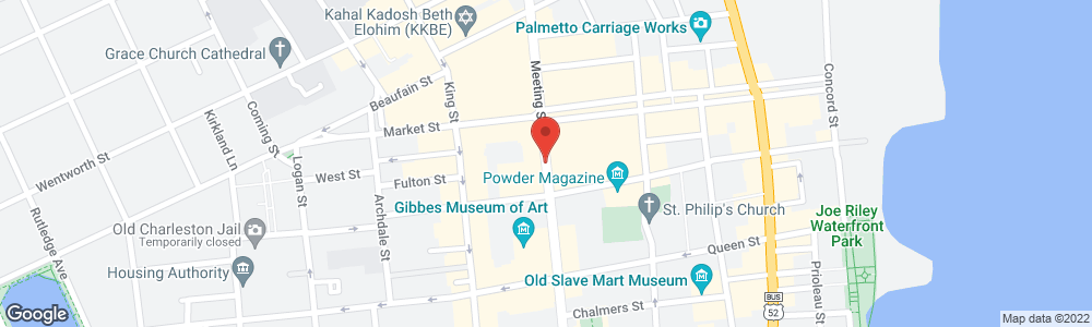 Map of the law firm Hood Law Firm, LLC