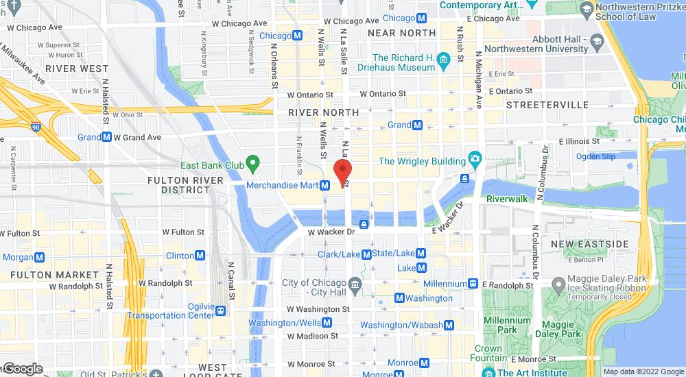 Map of the law firm Edelson PC