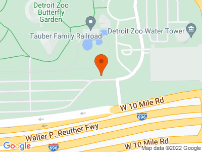 Aerial view of Detroit Zoological Park