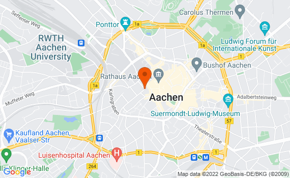 Aerial view of Aachen