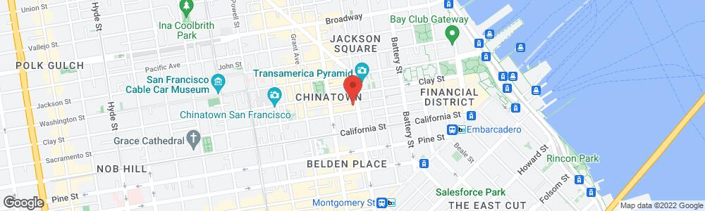 Map of the law firm DeLacey, Riebel & Shindell, LLP