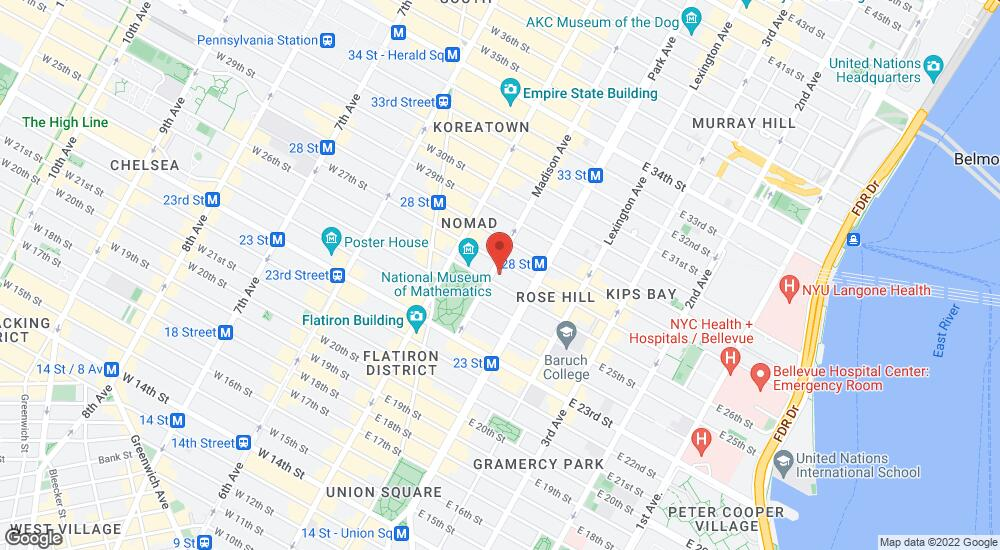 Map of the law firm Spears & Imes LLP