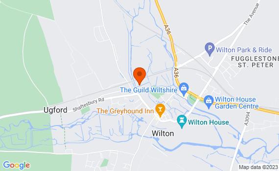 Aerial view of Wilton