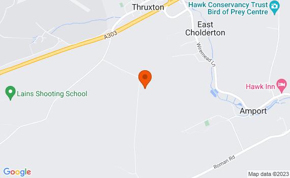 Aerial view of Thruxton