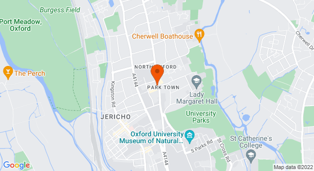 Aerial view of 79, Banbury Road, Oxford