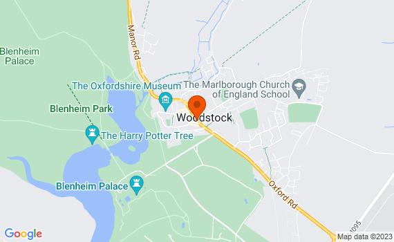 Aerial view of Woodstock