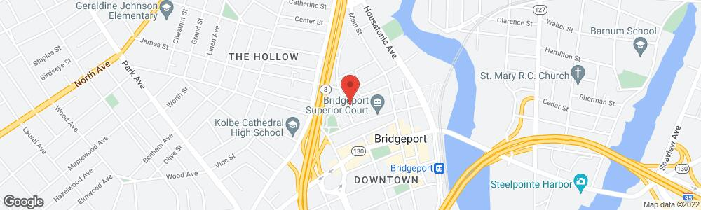 Map of the law firm Tremont Sheldon Robinson Mahoney PC