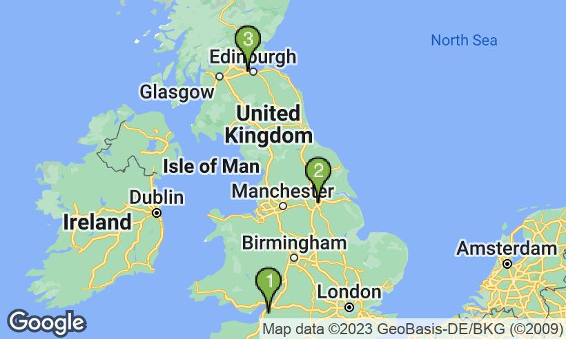 Looking4Parking Merchandising UK – Map Uk Airports