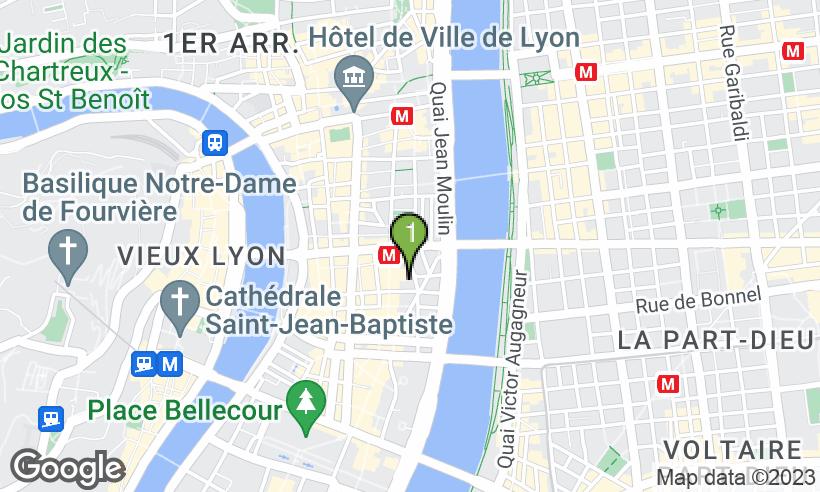 carte de localisation du commerce - Le Mariage Nuit Gravement A La Sante