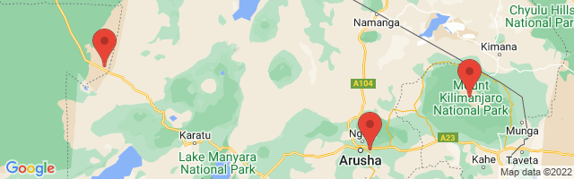 google map of the area covered on this page